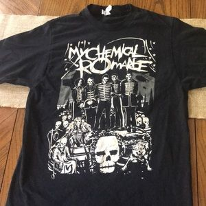 WORN ONCE! Hot Topic My Chemical Romance T-shirt